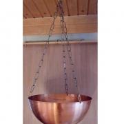 Lakitud vasest veekauss sauna kerise kohale